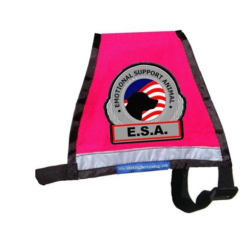 support vest premium small reflective emotional support vest workingservicedog
