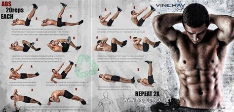 sixpack workout healthy fitness ab exercises repeat crunch v shape workouts