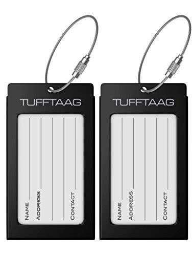 Travel Luggage Name Tag 10 best luggage tags to buy in 2018 land of the traveler