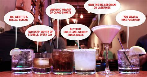 what your drink says about your personality what your drink says about you cocktail drinkers