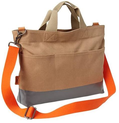 Gap Productred Canvas Tote by Gap Coated Canvas Pocket Tote In Beige For
