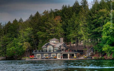 boat house canada eye candy muskoka blog