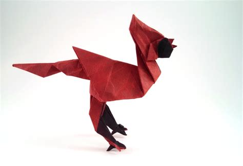 Origami Cardinal - origami cardinals page 1 of 2 gilad s origami page
