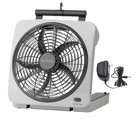 battery operated fan for car o2 cool portable tent fan with emergency device charger