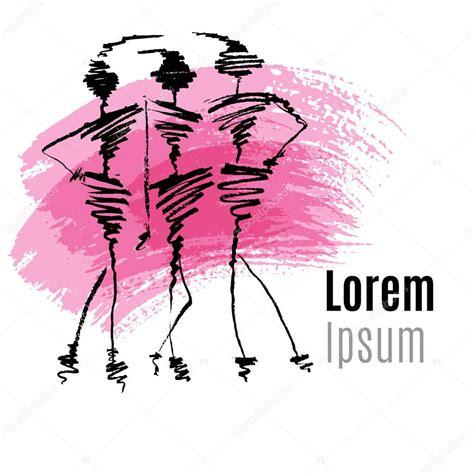 fashion logo design illustrator dise 241 o de logotipo moda vector de stock 169 iraida