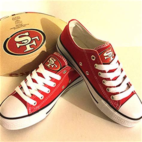 nfl shoes for fans 49ers gifts cute sports fan