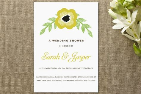 Simple Bridal Shower Invitations by Floral Inspired Bridal Shower Invitations Rustic Wedding