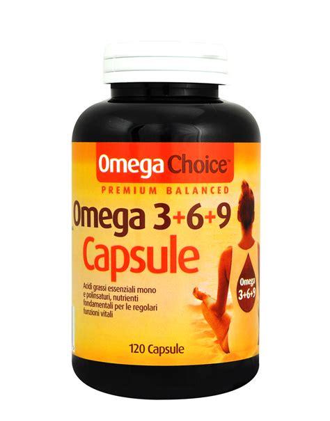 alimenti con omega 3 e omega 6 omega choice omega 3 6 9 capsule di optima 120 capsule