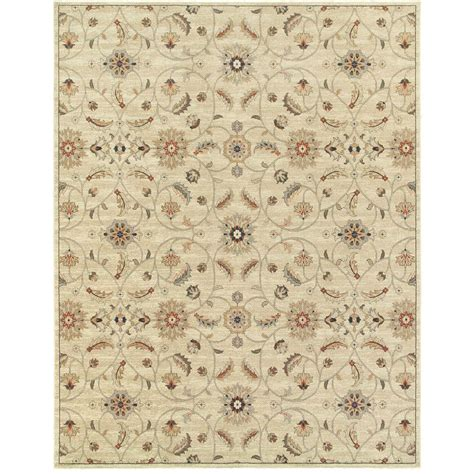 kitchen rugs 6ft home decorators collection ivory 4 ft x 6 ft