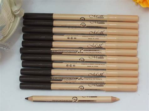 Pencil Mn 2 In 1 Eyeliner Eyebrow Concealer Pencil 2 In 1 Spk 259 myshoppingland mn eyebrow concealer pencil 2 in 1