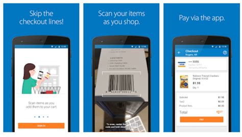 new app for android avoid checkout lines with the new walmart scan go app for android android authority
