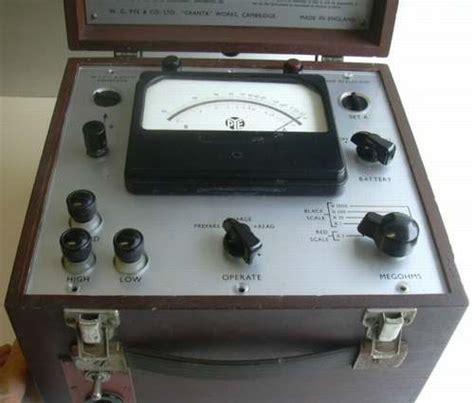 resistor test box electronic high resistance test set pye 11800
