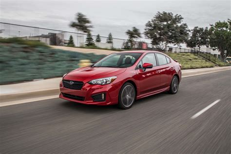 lowered subaru impreza 2017 subaru impreza 7 reasons to get the hatch and skip