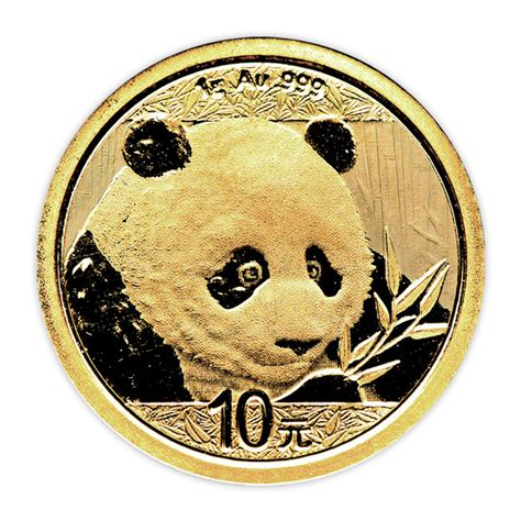 1 Gram Silver Coin Price - 1 g gold panda coin 2018 buy at goldsilver 174
