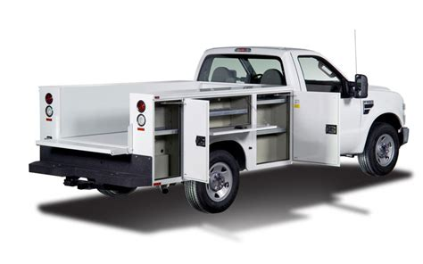 utility bed trucks service body truck beds bing images