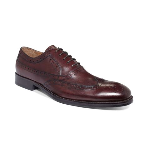 johnston murphy shoes johnston murphy tyndall wingtip laceup shoes in for
