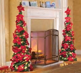 Front Porch Christmas Decorations best artificial poinsettia christmas tree to purchase online