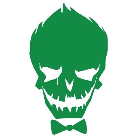 Kaos Skull Joker Lp squad joker vinyl decal sticker ebay