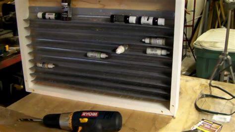 diy hobbies dyi build a hobby paint rack quot space style quot