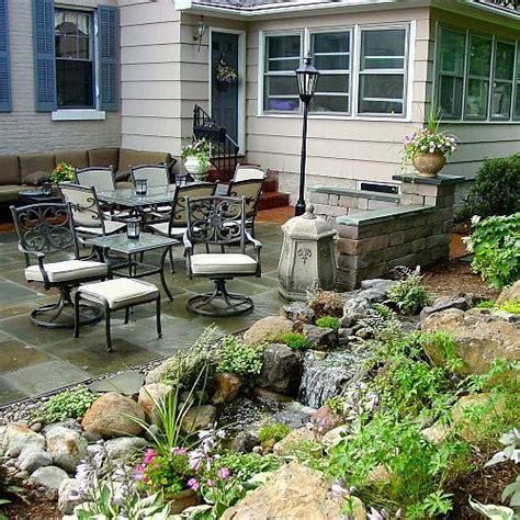 Patio Features Hometalk Landscape Design Ideas W Patio Water
