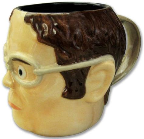 The Office Dwight Head Shaped Mug