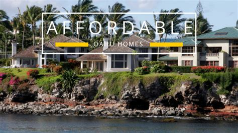 affordable homes on oahu cheap hawaii real estate