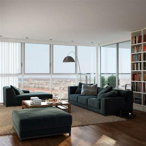 wohnzimmer modern einrichten 59 beispiele f 252 r modernes - Einrichtung Wohnzimmer Modern