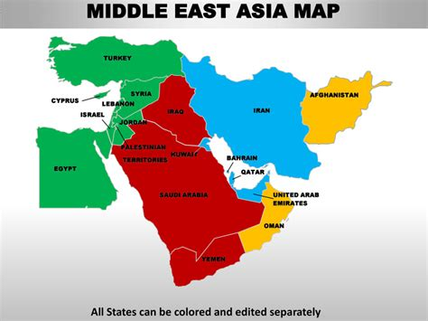 middle east map continent middle east continent map middle east map