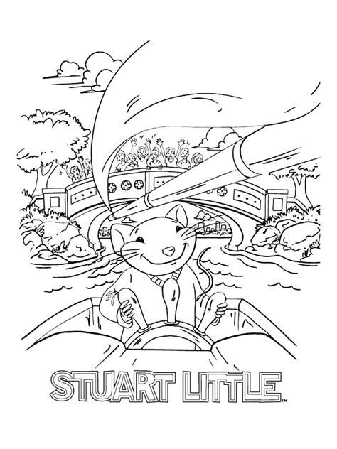 Coloring Page - Stuart little coloring pages 4