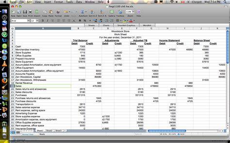 income statement spreadsheet flow statement worksheet income statement worksheet