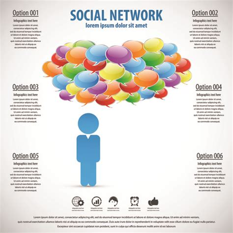 Business Template Social Network Vector Design Vector Free Vector In Encapsulated Postscript Eps Social Network Website Design Template