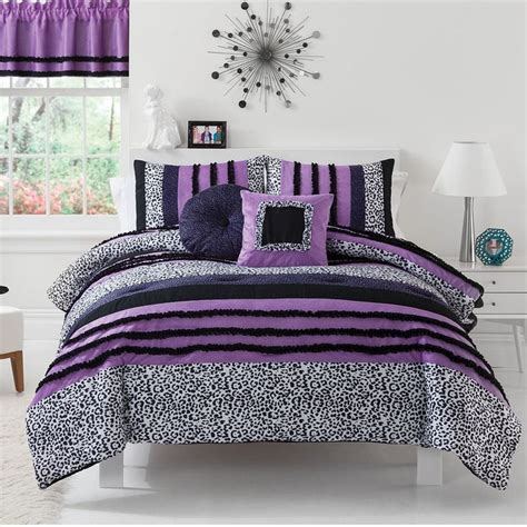 sassy zebra comforter set teen room ideas pinterest