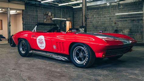 check   vintage corvette race car  sale  drive