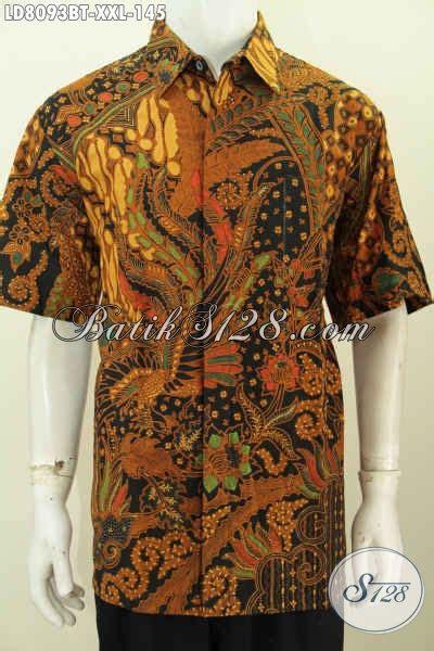 Hem Batik Kemeja Batik Bahan Katun Halus Db4108 1 hem batik jumbo kemeja batik istimewa lengan pendek bahan