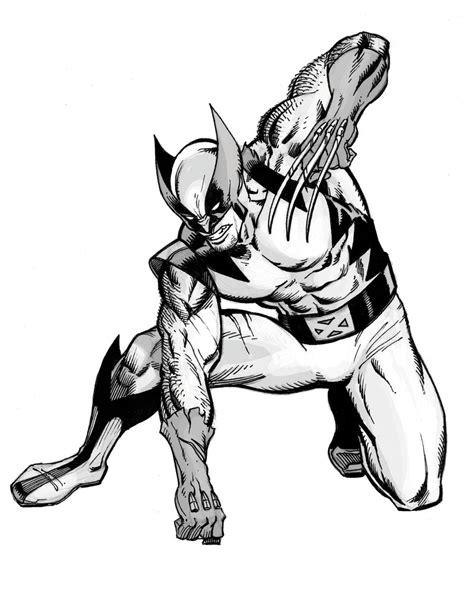 Wolverine Putih wolverine sketch by artmonkey5000 on deviantart