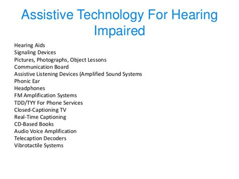Justification Letter For Assistive Technology Bo Warren Assistive Technology Presentation