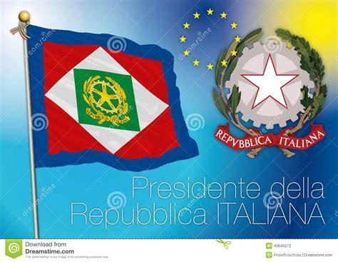 presidente della italiana presidente della bandiera italiana della repubblica