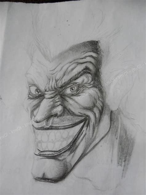 imagenes a lapiz del joker dibujo de joker y batman hecho con l 225 piz arte taringa