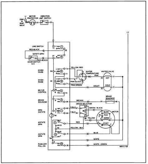 ge washer motor wiring diagram refrigerators parts dryer parts