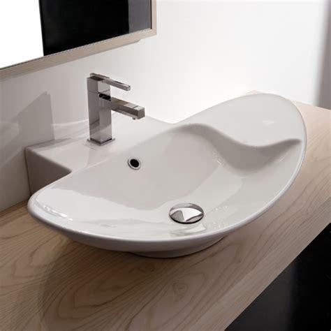 mensola bagno appoggio lavabo lavabi appoggio lavabo appoggio zefiro 70 r mensola
