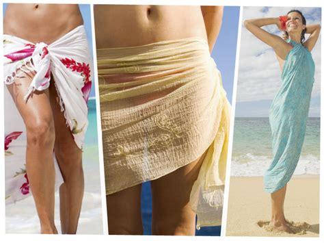 como hacer vestidos con pareos como usar un pareo 5 estilos diferentes actitudfem