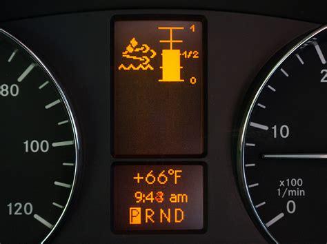 mercedes indicator lights warning lights on mercedes sprinter iron