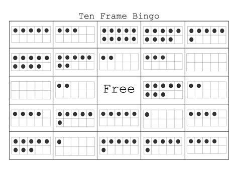 2nd grade 187 ten frame worksheets 2nd grade printable