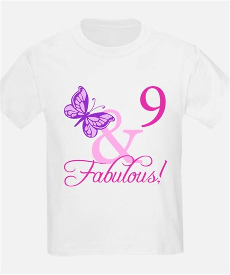 T Shirt Ideas 9 gifts for age 9 birthday unique age 9 birthday gift