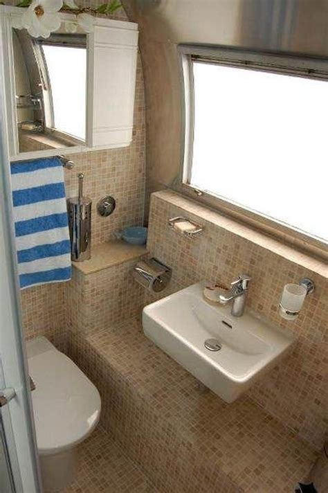 smallest rv with bathroom small rv bathroom toilet remodel ideas 33 decomg