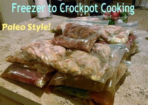 Sugar Detox Crockpot Recipes by With 4 Boys Freezer To Crockpot Cooking Paleo And