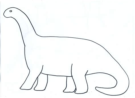 cut out dinosaur shapes template dinozaury pinterest