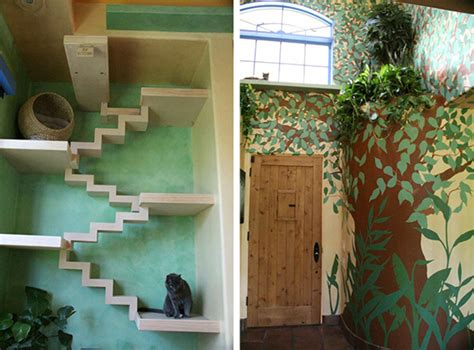 Room Over Garage Design Ideas colorful catification for some very lucky cats hauspanther