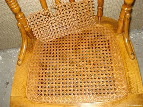 webbing the seat of an antique chair how to install webbing sheet pressed caning