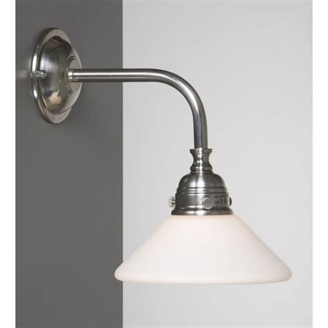 Wall Bathroom Lights Traditional Or Edwardian Bathroom Wall Light In Satin Nickel